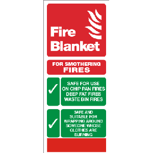 Fire Blanket Sign Image