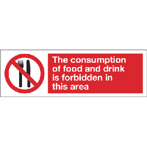 400mm x 600mm The consumption of food etc. Image