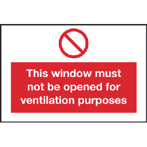 150mm x 100mm This window must not be used etc. Image